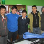 Alumnos junto a los Coordinadores